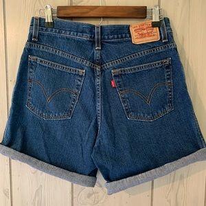 Vintage 550 Levi's High Waisted Shorts